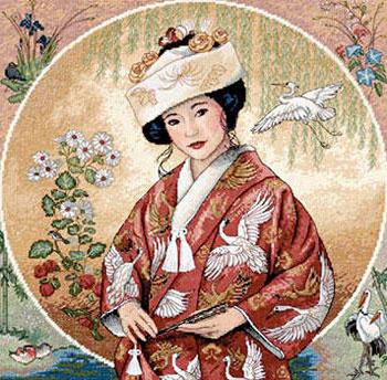 Японская девушка, восток, люди