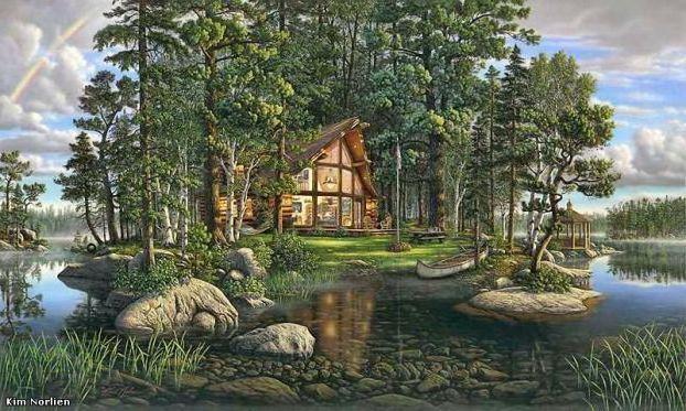 Домик в лесу, домик