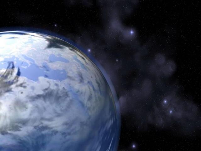 Космос, космос, планеты