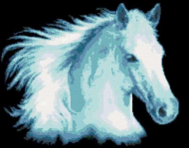Белая лошадь, предпросмотр