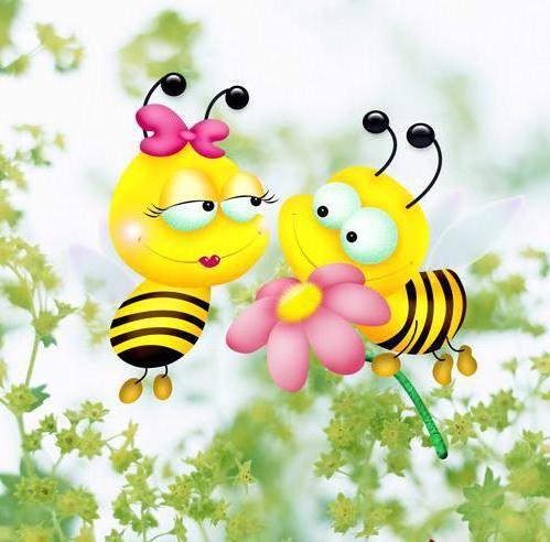 Пчелки, оригинал