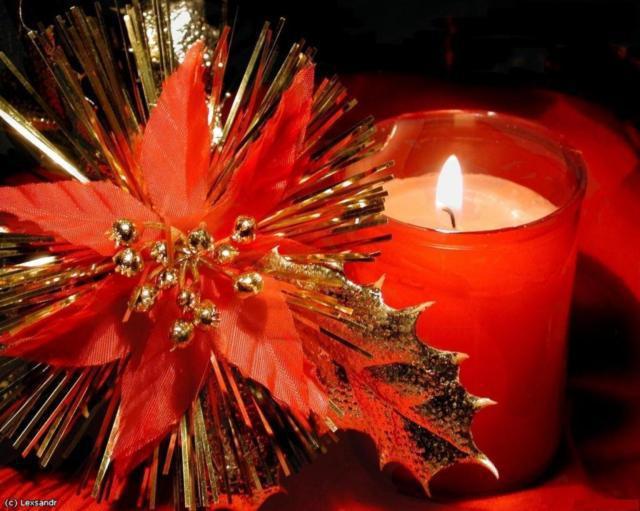 Рождественская свеча, оригинал