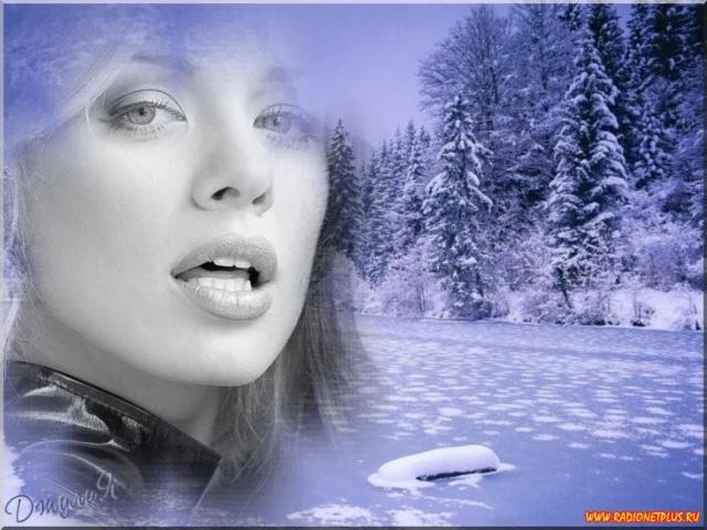 Девушка-зима 3, девушка, зима,