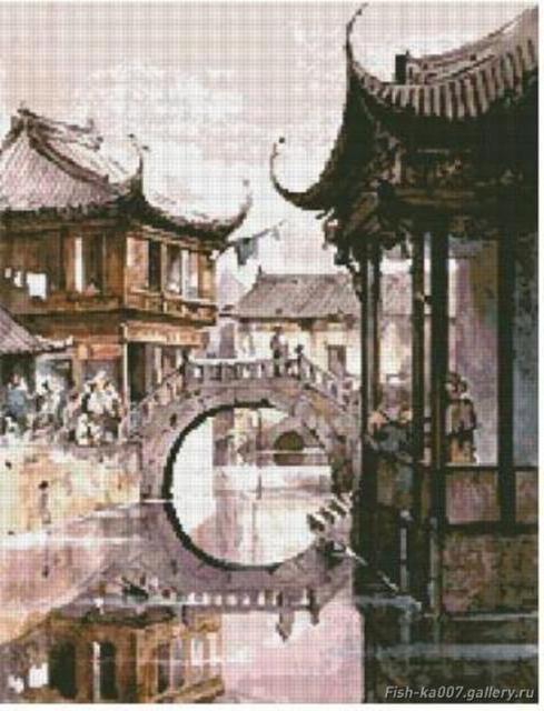 Восточная архитектура, мост