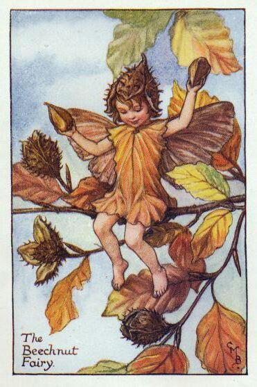 Осенний эльф, оригинал