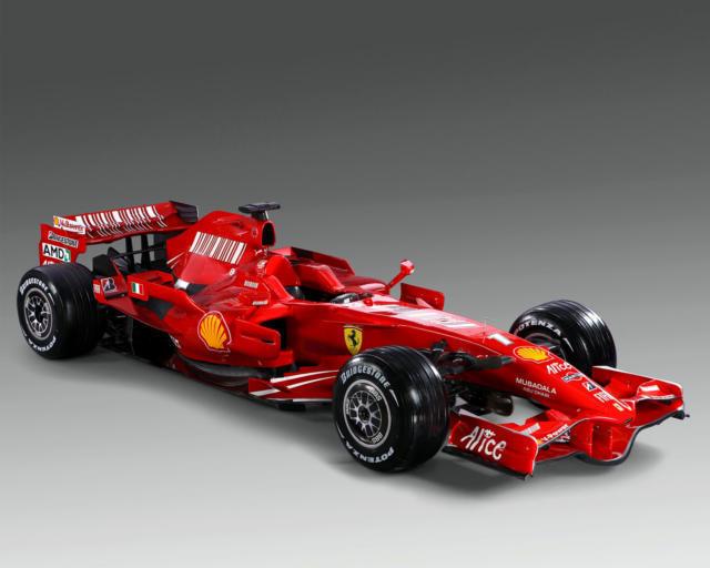 Болид Ferrari, оригинал