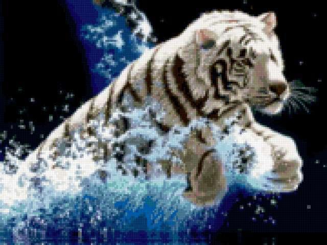 Прыжок белого тигра