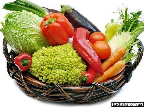 Овощной натюрморт, натюрморт
