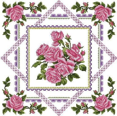 Салфетка Розы, оригинал