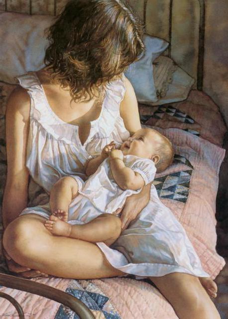 Материнство-худ.