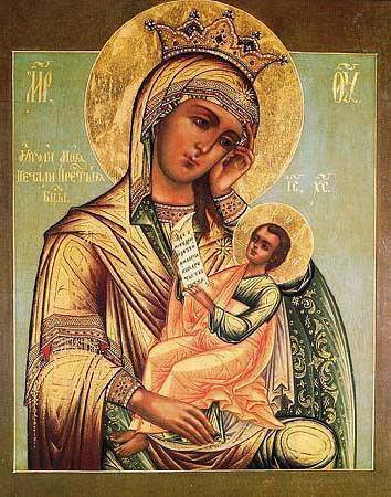 богородица, умиление,
