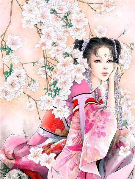 Японка, восток, портрет, китай