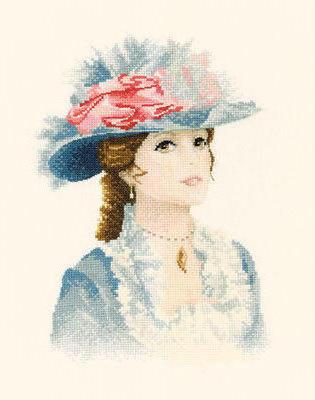 Девушка в шляпе, девушка,