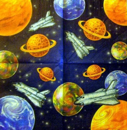 Космос, подушка, детские