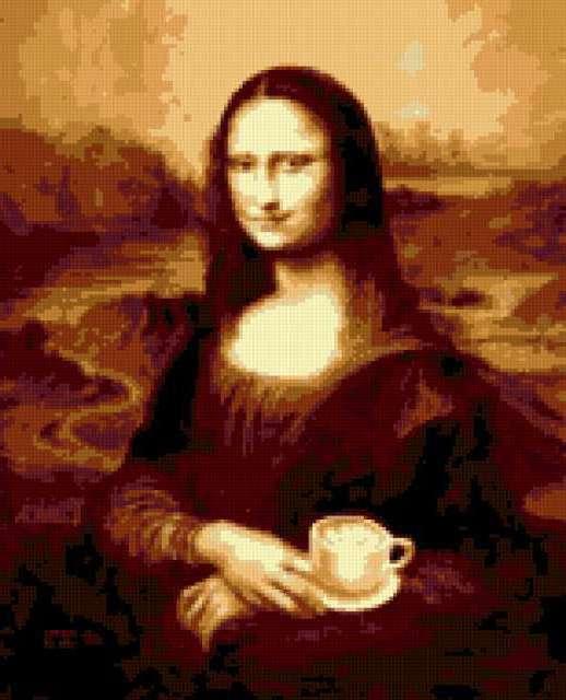 Мона Лиза Латте, предпросмотр
