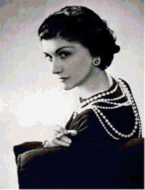 Коко Шанель, портрет