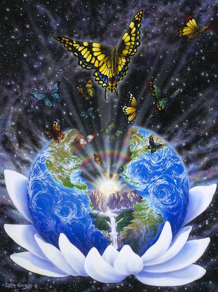 планеты, цветы, космос