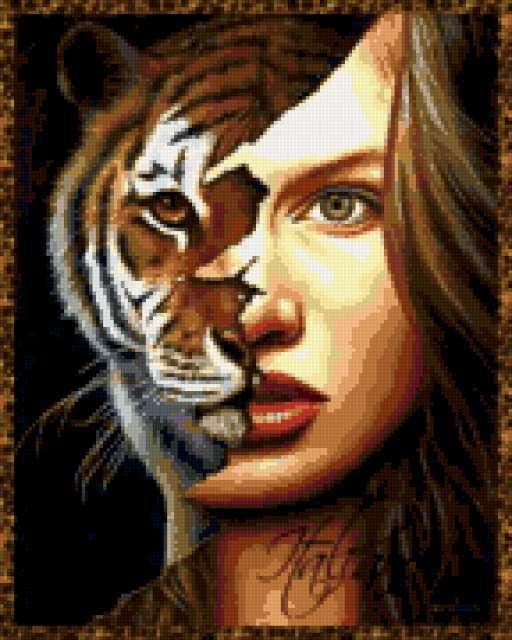 Тигрица, предпросмотр