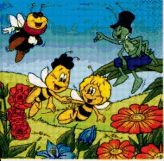 Пчелки, предпросмотр