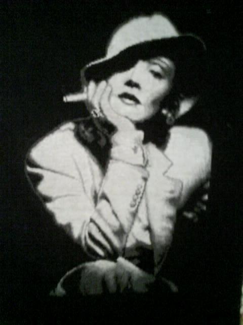 Марлен Дитрих, оригинал