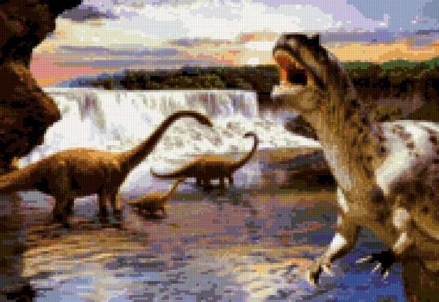 До нашей эры, динозавры,