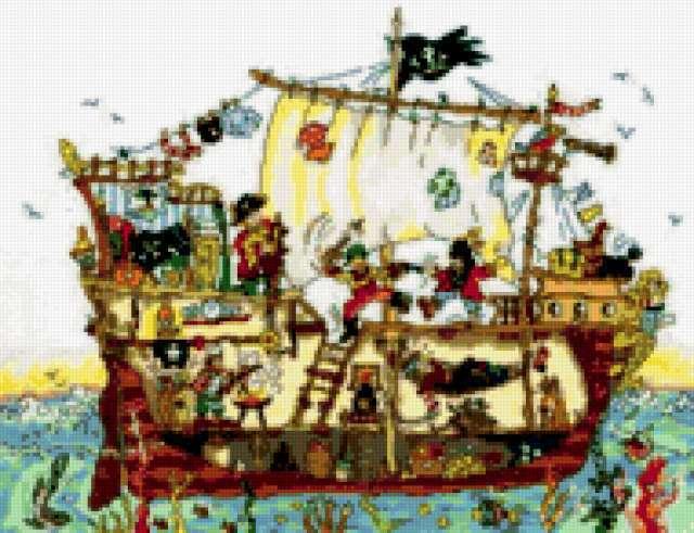 Скидка! Корабль пиратов