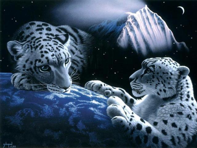 Планета леопардов, оригинал