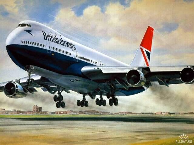 Самолет , оригинал