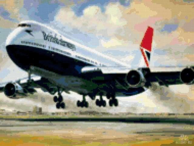 Самолет , предпросмотр
