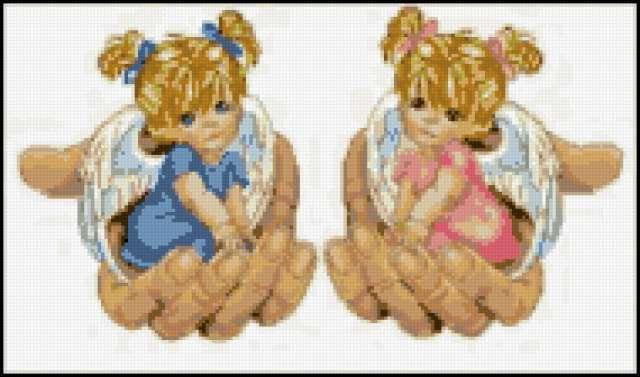 Ангелочки в руках