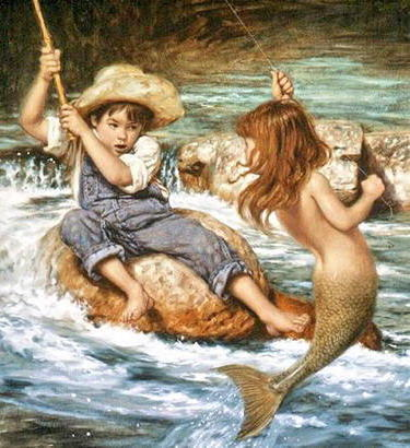 Маленький рыбак, оригинал