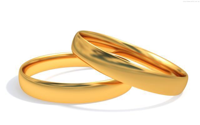 Свадебные кольца, оригинал