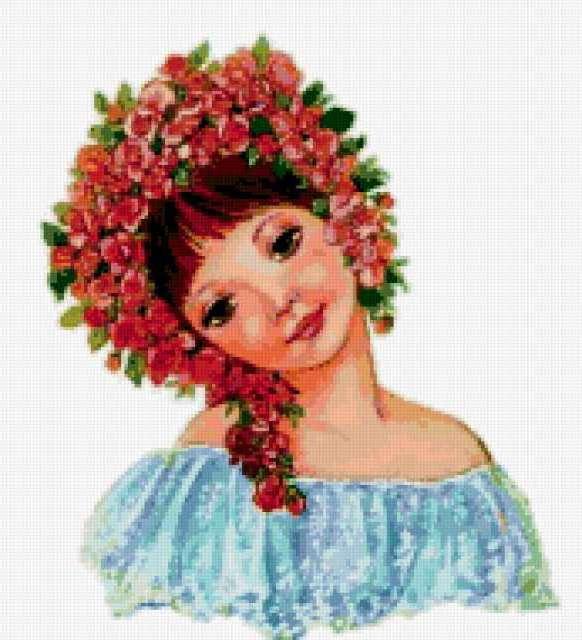 Русская красавица, люди, дети,