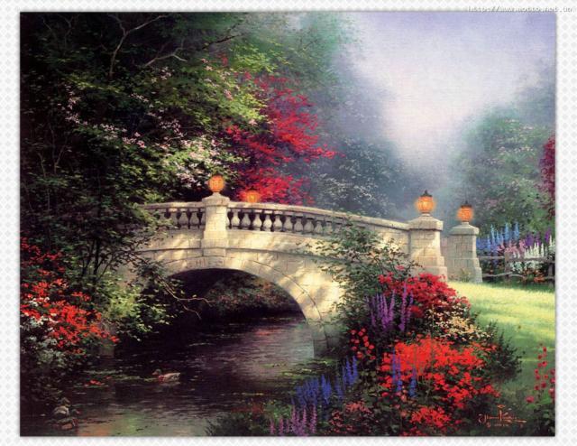Сказочный мост, оригинал