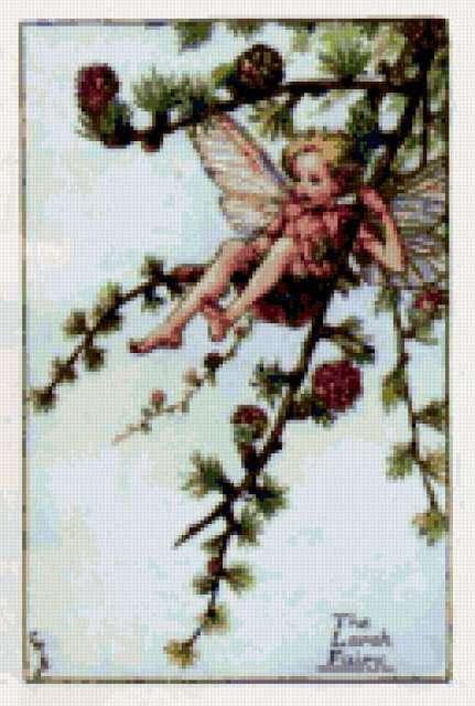 Фея лиственницы, эльфы, сказка