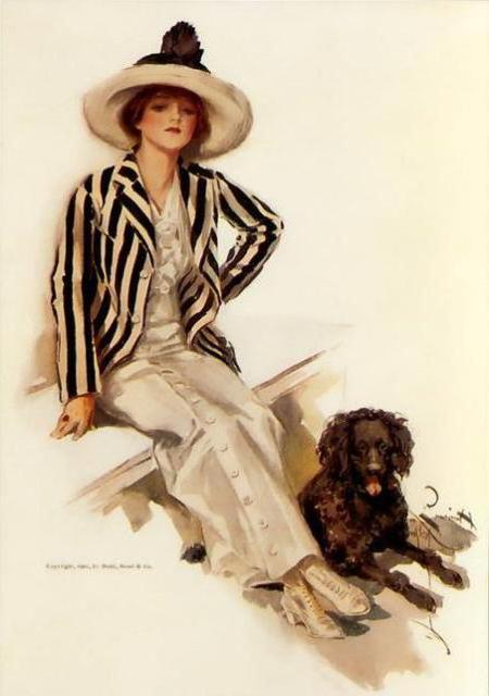 Дама с собачкой, оригинал