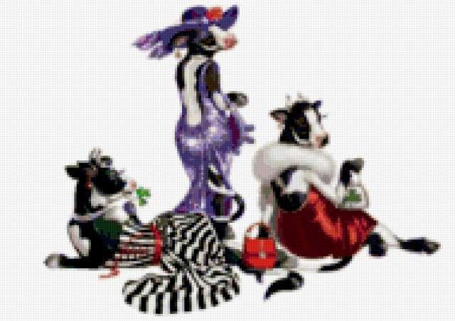 Гламурные коровы, предпросмотр