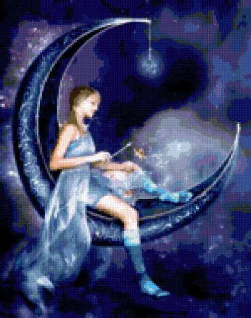 Фея на Луне, предпросмотр