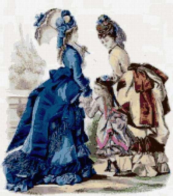 Старинные дамы, предпросмотр