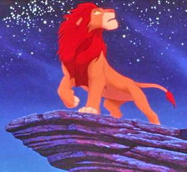 Король лев, оригинал