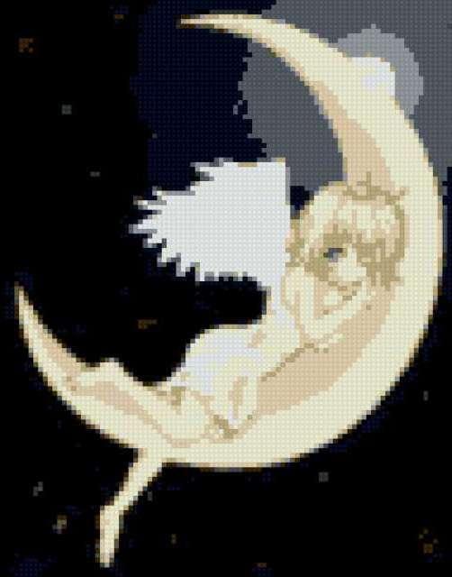 Ангел на луне, предпросмотр
