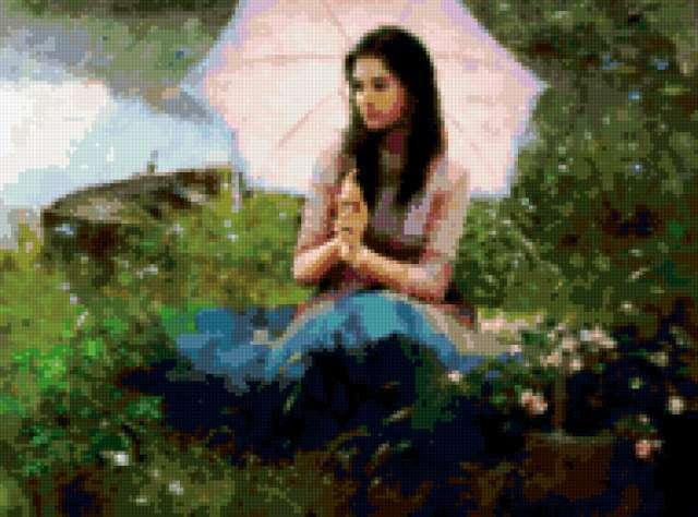 Девушки с зонтиками | 77 фотографий | ВКонтакте