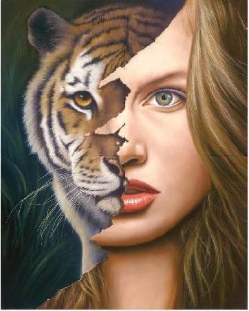 Девушка-тигр, оригинал