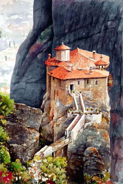 МЕТЕОРА, Греция, оригинал
