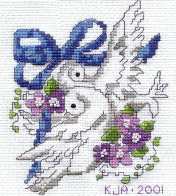 Голубки, свадебные голубки
