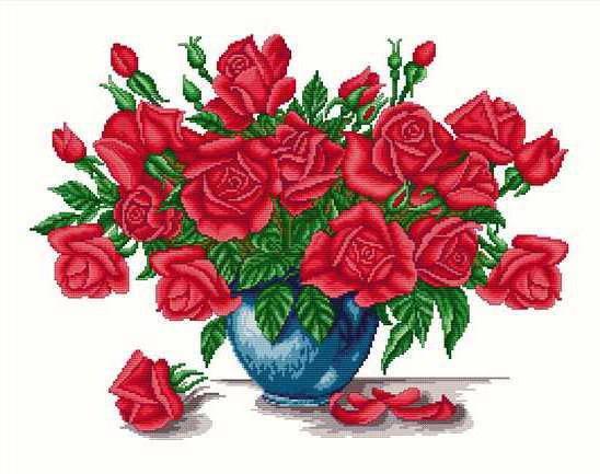 Розы в вазе, цветы, ваза,