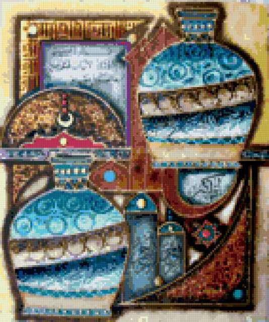 Арабские вазы, предпросмотр