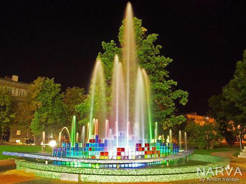 Нарва фонтан,