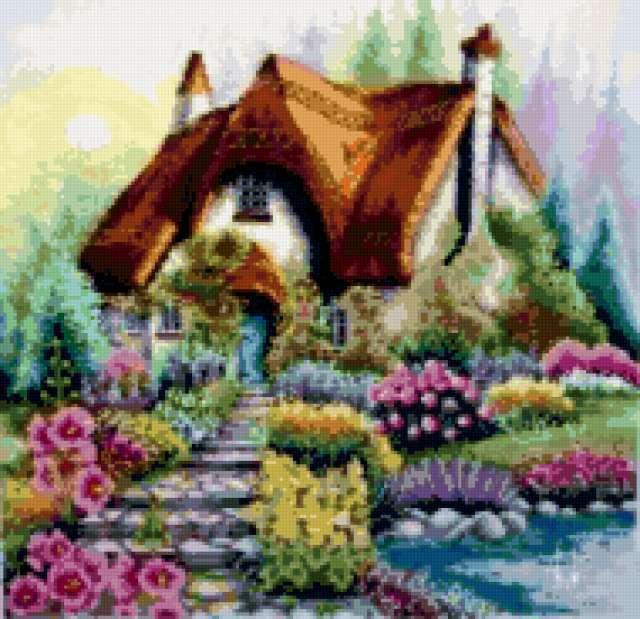 Сказочный домик, предпросмотр
