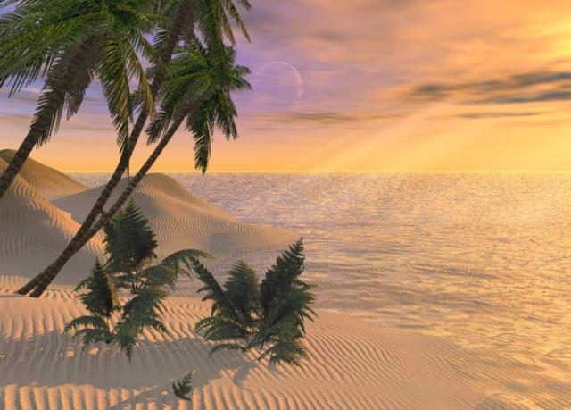 Мираж..., природа, пустыня